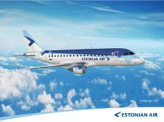 Estonian Air Embraer