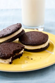 Homemade Oreos.  This will be my contribution to SPA!  I get these every time I'm at Flour.