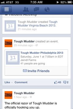 Facebook Tests Mobile Event Invite Button For Timeline