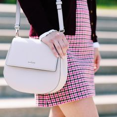 @collegeprepster with the kate spade new york byrdie bag.
