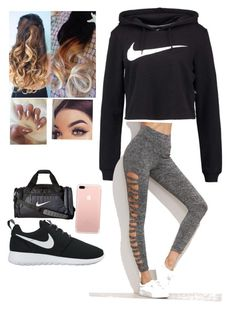 """""""Untitled #25"""" by abbiemiller-1 on Polyvore featuring NIKE"""