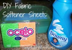 How To Make Fabric Softener Sheet