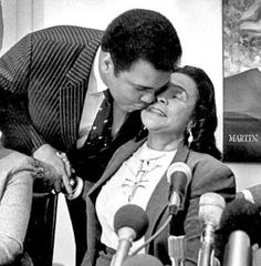 nice Float Like a Butterfly: Muhammad Ali& Life in Photos - NBC News. Ali embraces Coretta Scott King, the widow of the Rev. Martin Luther K. Mohamed Ali, Sugar Ray Robinson, Coretta Scott King, Float Like A Butterfly, Civil Rights Leaders, Boxing Champions, Ali Quotes, Cinema, We Are The World