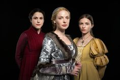 The History Girls: The White Queen reviewed by Sarah Gristwood pictured: The Red Queen-Margaret Beaufort, The White Queen-Elizabeth Woodville and The Kingmaker's Daughter- Anne Neville