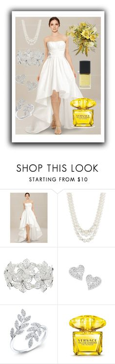 """""""Wedding"""" by hazreta-jahic ❤ liked on Polyvore featuring Anne Klein, M&Co, Vivienne Westwood, Versace and SHADE Collection"""