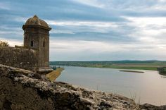 El Guadiana desde la fortaleza de Jurumenha. Alentejo