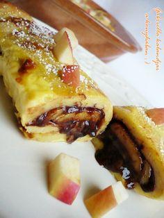 Gabriella kalandjai a konyhában :): Nutellás sült palacsinta - családom óriási kedvence! :)