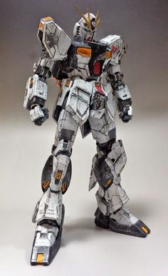 MG 1/100 Nu Gundam Ver. Ka vs. Sazabi Ver. Ka 'Final Fight' - Diorama Build (GBWC 2014 Entry)