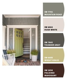 1000 images about sherwin williams exterior paint colors - Sherwin williams artichoke exterior ...