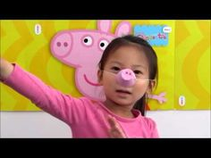 how to make peppa pig nose: using egg carton and pink paint