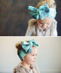 toddler girl headband.  So cute!