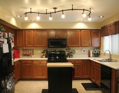 black rod kitchen lights - Google Search