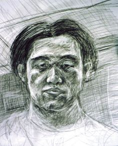 Self Portrait I made in highschool
