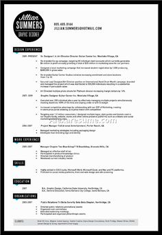 Bba Resume Example Page   Career    Word Doc