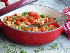 Smulpaapje kookt! - Portugees visstoofpotje met bakkeljauw, kikkererwt, tomaat