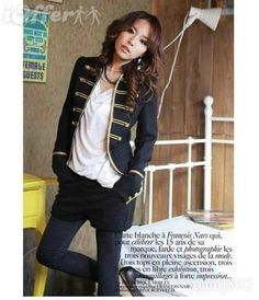 women jacket blazer Napoleon military copper gothic S-L