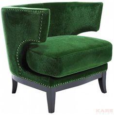 כורסא ירוקה מעוצבת - Kare Design