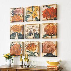 Vibrant Blossom Floral Art