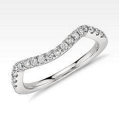 Monique Lhuillier Pavé Diamond Ring in Platinum ct. Diamond Anniversary Bands, Diamond Bands, Womens Wedding Bands, Wedding Rings For Women, Diamond Wedding Rings, Wedding Ring Bands, Diamond Gemstone, Gemstone Rings, Beautiful Wedding Rings