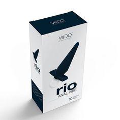 VIBRATEUR ANAL EN SILICONE NOIR RIO DE VEDO. Le vibrateur anal RIO éveille et enflamme vos désirs les plus profonds. La pointe légèrement arrondie et le corps effilé sont parfaitement conçus pour une insertion facile et offrent des plaisirs anaux incroyables. Offert par la boutique érotique (sex shop) La Clé du Plaisir.