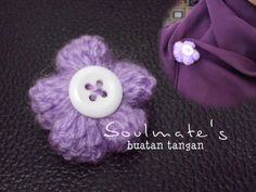 pint bunga ~ crochet