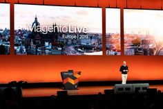 Keynote speakers at Adobe's recent MagentoLive Europe 2019 event, in Amsterdam, encouraged attendees to embrace e-commerce transformation. Ecommerce Web Design, Retail Companies, Ecommerce Solutions, Keynote Speakers, Ecommerce Platforms, Environmental Graphics, Amsterdam, Digital Marketing, Adobe