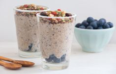 Raw Buckwheat and Blueberry Porridge | Deliciously Ella
