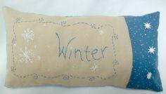 Winter+Mini+Pillow/+Embroidered+Shelf+by+luvinstitchin4u+on+Etsy