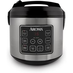 Aroma Housewares 20 Cup Cooked (10 cup uncooked) Digital Rice Cooker, Slow Cooker, Food Steamer, SS Exterior (ARC-150SB)         *** Read more  at the image link. (This is an affiliate link and I receive a commission for the sales)