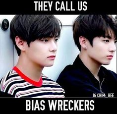 TBH everyone in BTS is a bias wrecker LOL