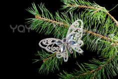 Christmas  ornaments  .butterfly