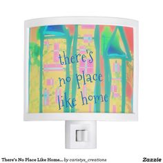 Shop There's No Place Like Home Nightlight Nite Lights created by caristys_creations. Nursery Night Light, Out Of The Dark, Nightlights, Nursery Room, Kids Rooms, The Darkest, Collections, Lighting, Places