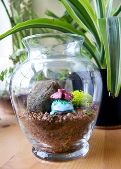 Pokemon Terrarium, how sneaky!
