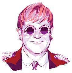 Elton John's Bookshelves Are Meticulous. - The New York Times Hate People, Real People, John Cooper Clarke, Arthur Rubinstein, Ben Folds, Nick Drake, Fictional Heroes, Pop Musicians