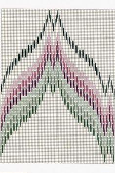 Latest Totally Free bargello Needlepoint patterns Popular KUFER z artystycznym rękodziełem : Bargello Bargello Needlepoint, Bargello Quilts, Motifs Bargello, Broderie Bargello, Bargello Patterns, Crochet Motifs, Needlepoint Stitches, Hardanger Embroidery, Cross Stitch Embroidery