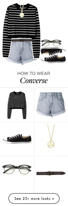 """""""laugh as much as you breathe, love as much as you live"""" by elizabethwoods809 on Polyvore featuring Nobody Denim, ZeroUV, Converse and Billabong"""