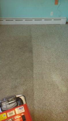 Wonderful No Lie, No Edit. Left Side Is Before. Right Side Is After. Rug DoctorCarpet  ...