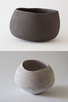 Lithographic collection at Maud & Mabel Large ceramic sculptural lithic vessels by Yasha Butler Slab Pottery, Pottery Bowls, Ceramic Pottery, Pottery Art, Pottery Ideas, Earthenware, Stoneware, Pottery Supplies, Vegvisir