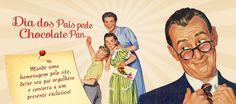Mande uma homenagem ao seu pai pelo site da Pan e concorra a um presente exclusivo! Compartilhe com seus amigos, seu pai merece ser lembrado! Acesse já: http://www.chocolatepan.com.br