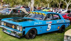 Australian Muscle Cars, Aussie Muscle Cars, American Muscle Cars, Old Classic Cars, Ford Falcon, Sports Sedan, Car In The World, Motor Sport, Ford Gt
