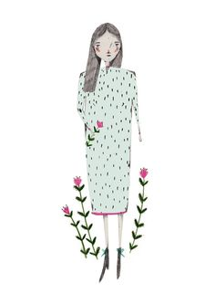amyisla:  Another fashion illustration from the Warehouse event!