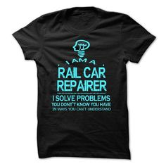 i am a RAIL CAR REPAIRER - #statement tee #vintage tshirt. TRY  => https://www.sunfrog.com/LifeStyle/i-am-a-RAIL-CAR-REPAIRER-28735563-Guys.html?id=60505