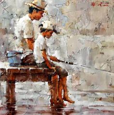 Andre Kohn - Fishing with Dad