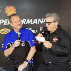 Interviewing the #automotive industry with Alan Taylor at #ShellSEMA2016 #SEMA2016 Motorz TV #TBT