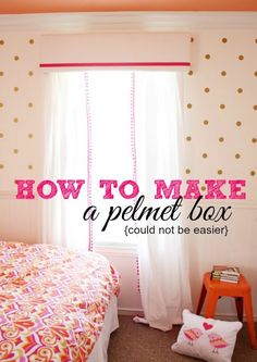 How to Make a Pelmet Box | A Thoughtful Place