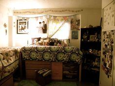 My dorm room at Belhaven University in 2011.