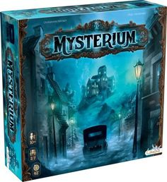 Asmodée Asmodée – – Mysterium – Games of Mysteries Fun Board Games, Fun Games, Mystery Board Games, Jungle Speed, Cluedo, Dinner Party Games, Two Player Games, Cooperative Games, 10 Year Old Boy