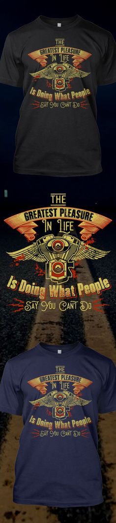 Greatest pleasure