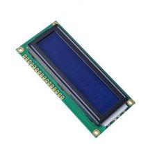HD44780 1602 Module LCD affiche des caractères 2×16: LCD Ecran et blue rétro-éclairage Grand angle et large contrast LCM type: digit Nombre…