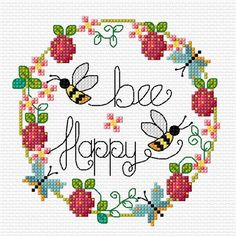 (^_^) Handicraft: Patterns with hoops for embroidery / Wreath cross stitch patterns
